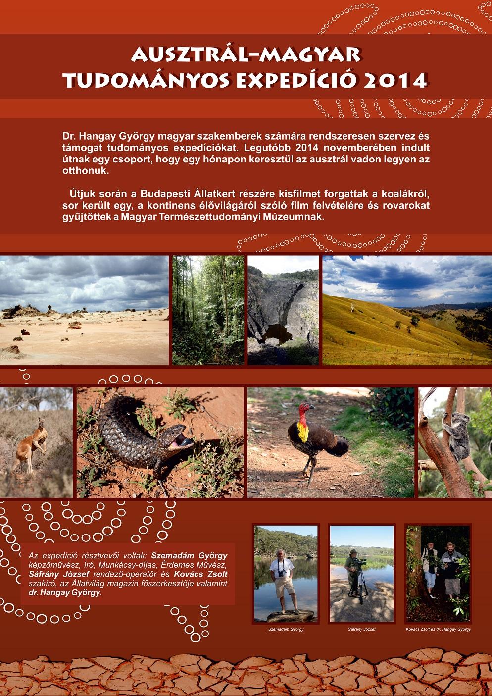 ausztral-magyar tudomanyos expedicio 2014
